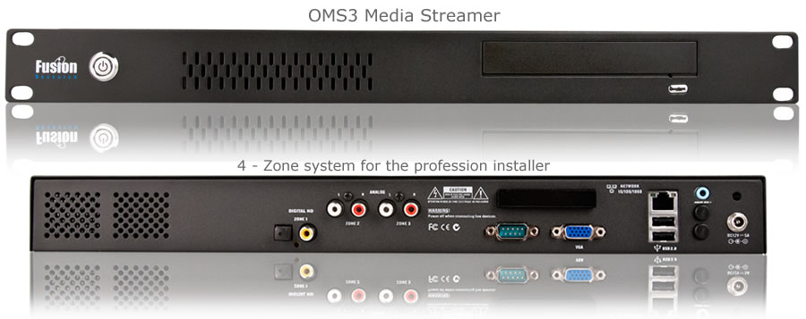 Fusion Research OMS3 Music Server